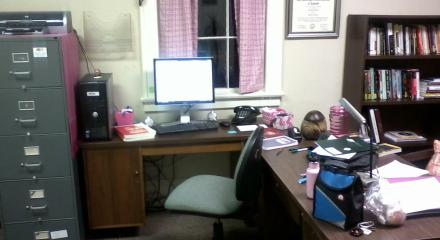 This is where I office.